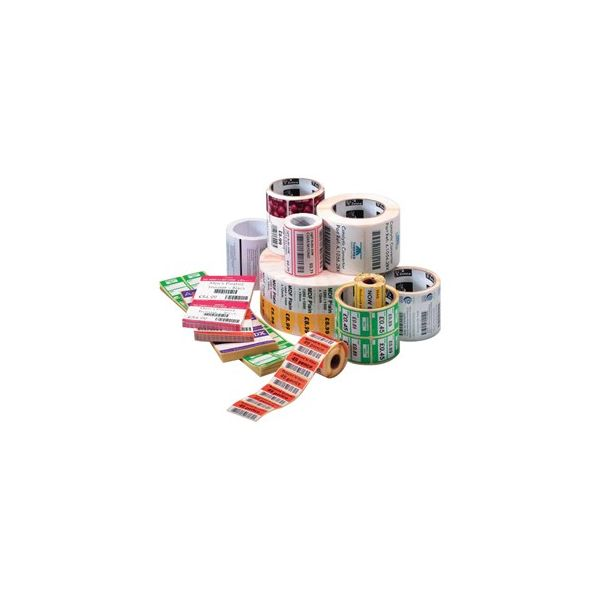 Zebra Label Paper 4 x 2in Direct Thermal Zebra Z-Select 4000D 1 in core