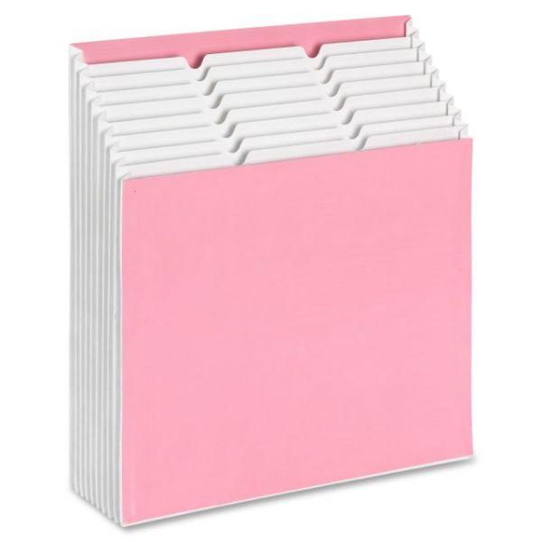 Smead 70209 Dark Pink Stadium File