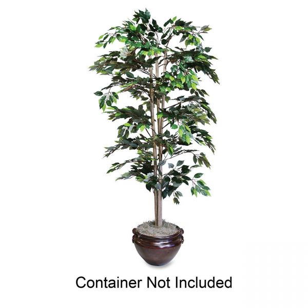 Nu-Dell 6ft Artificial Green Ficus Tree