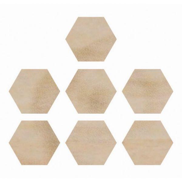 Wood Flourishes 7/Pkg