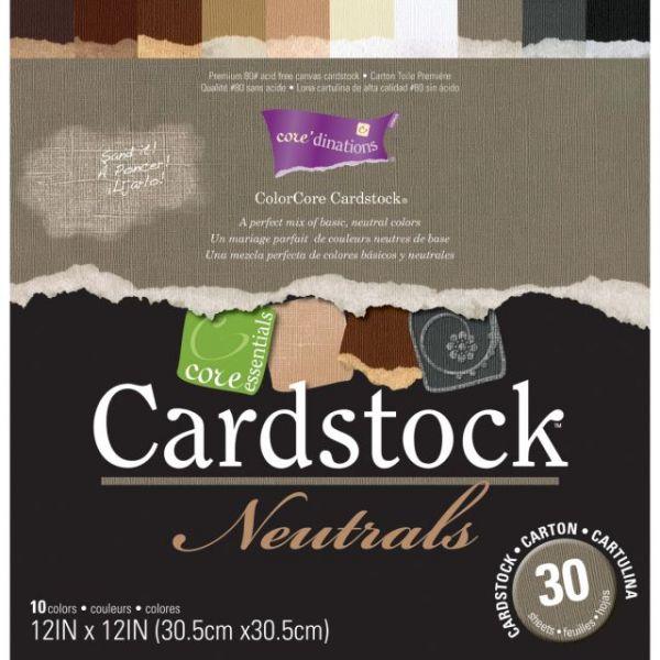 Core'dinations Core Essentials Cardstock Pad