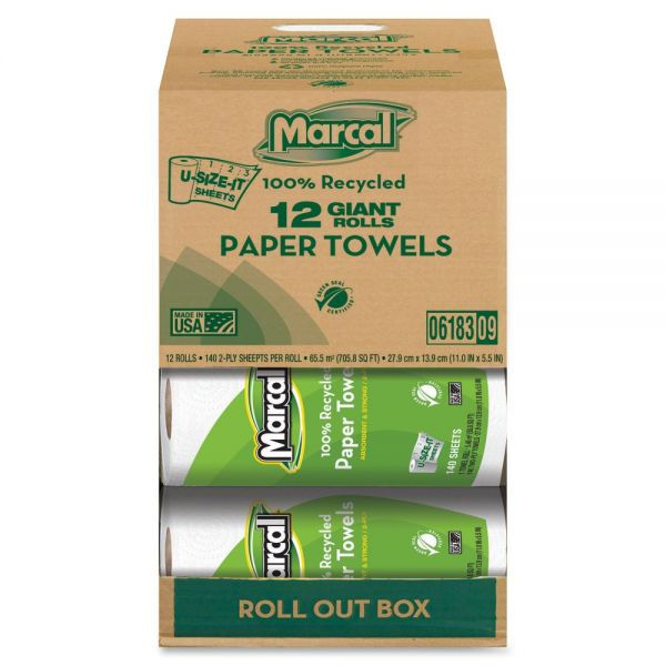 Marcal Small Steps U-Size-It Paper Towels