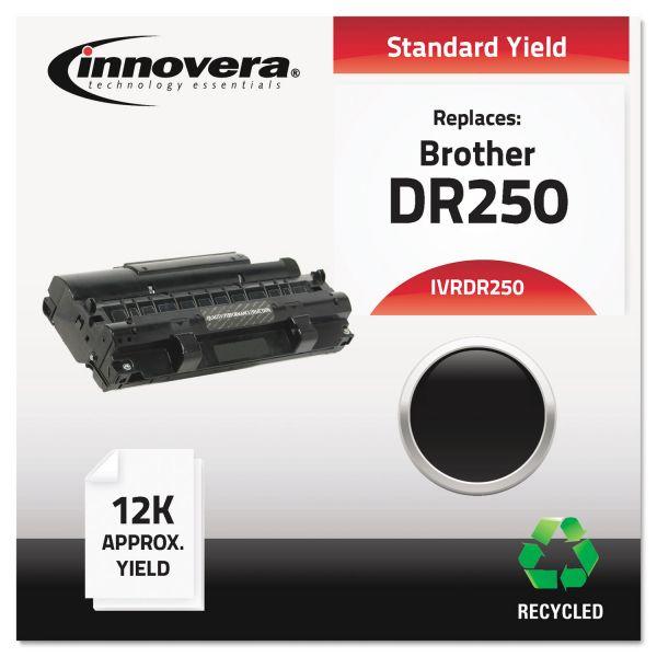 Innovera Remanufactured DR250 Drum Unit, Black