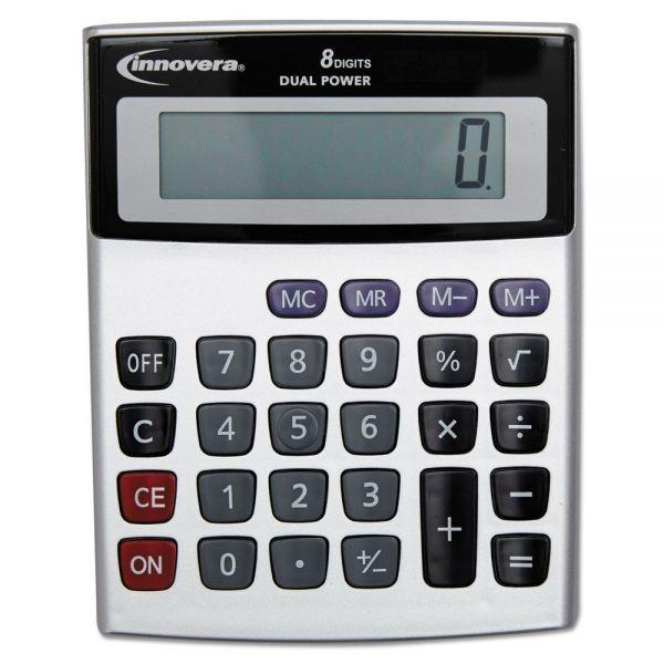 Innovera Portable Minidesk Calculator