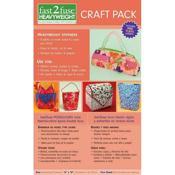 Fast2fuse Craft Pack Interfacing Heavyweight