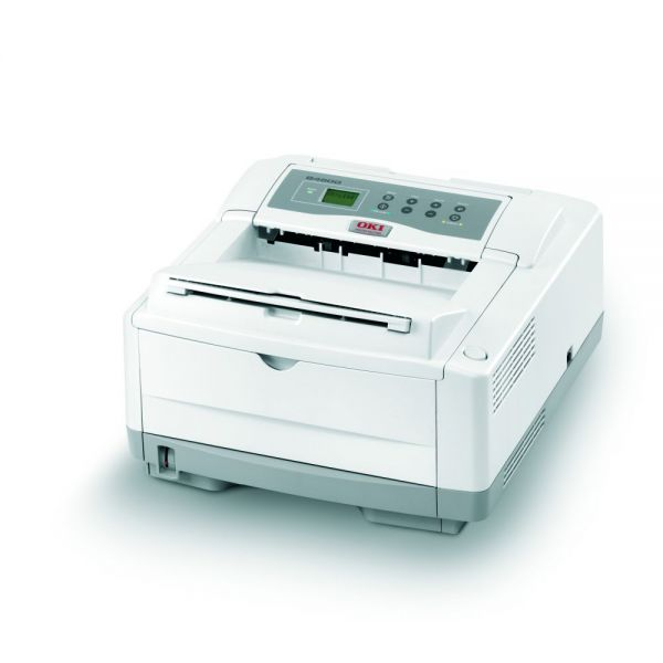 Oki B4600N LED Printer - Monochrome - 600 x 2400 dpi Print - Plain Paper Print - Desktop
