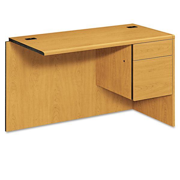 "HON 10700 Series Right Return | 1 Box / 1 File Drawer | 48""W"