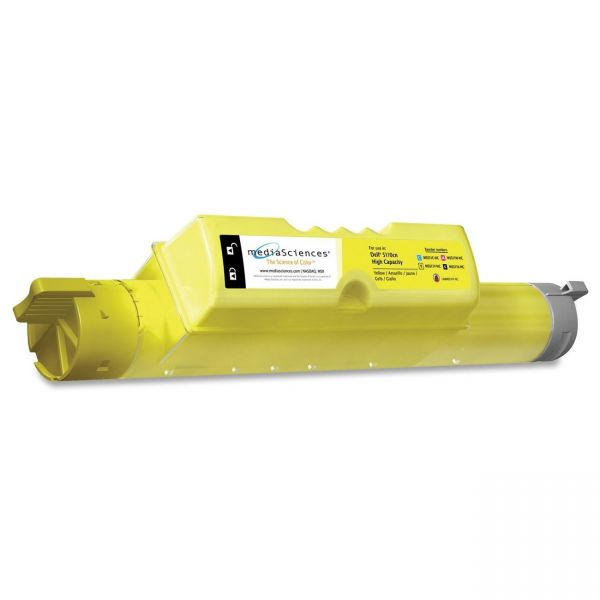 Media Sciences Remanufactured Dell 310-7895 Yellow Toner Cartridge