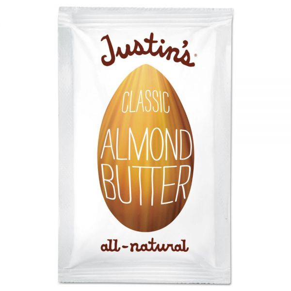 Justin's All-Natural Classic Almond Butter Packs