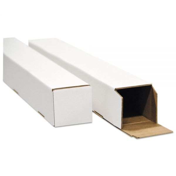 General Supply Square Mailing Tubes