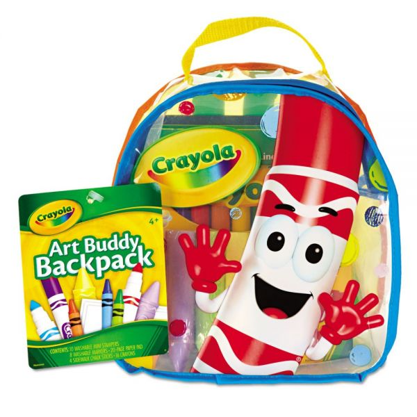Crayola Art Buddy 38-Piece Backpack