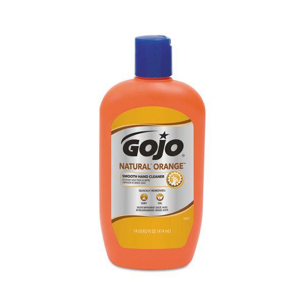 GOJO Natural Orange Smooth Lotion Hand Cleaner