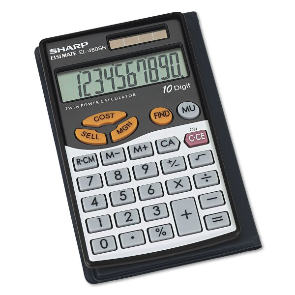 Sharp EL480 Handheld Calculator