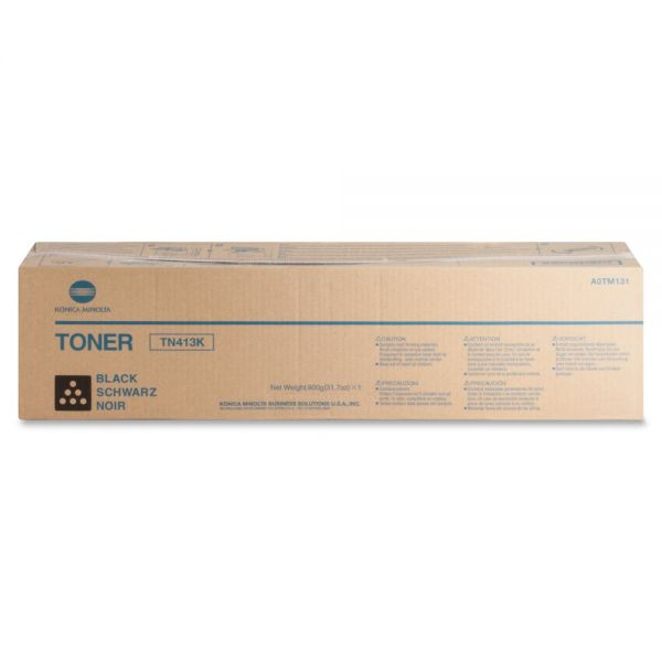 Konica Minolta TN-413K Black Toner Cartridge