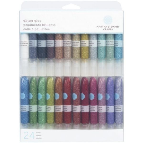 Martha Stewart Glitter Glue Set