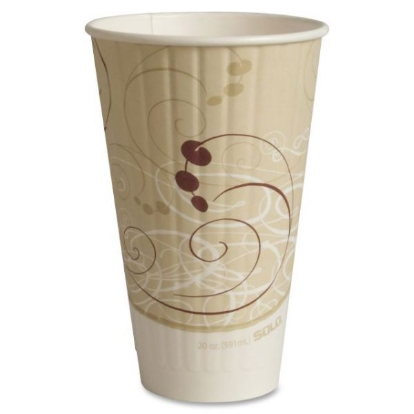 Solo Insulated 20 oz Paper Coffee Cups