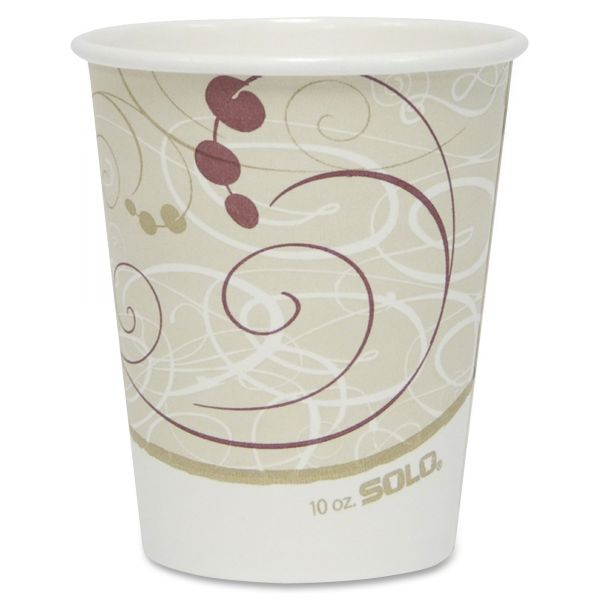 Solo Poly Lined 10 oz Coffee Cups