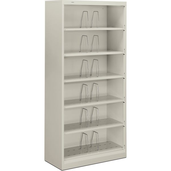 "HON Brigade 600 Series Shelf File | 6 Shelves | Open Front | Legal Depth | 36""W"