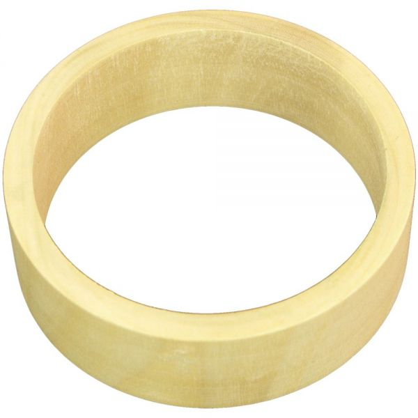 Unfinished Bangle Bracelet Flat Exterior