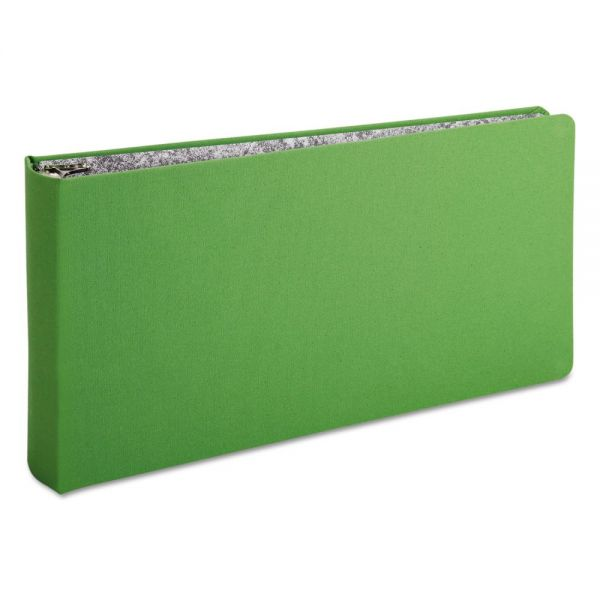 Oxford Green Canvas 3-Ring Legal Binder