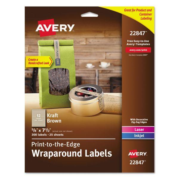 Avery Print To The Edge Wraparound Labels