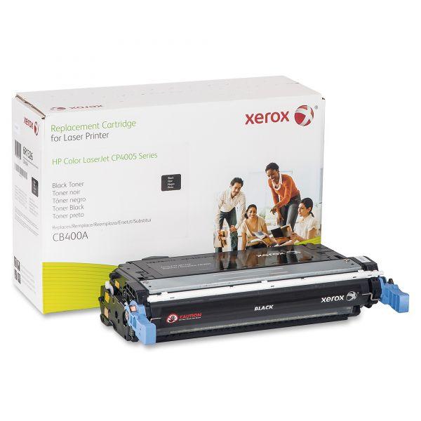 Xerox Remanufactured HP CB400A Black Toner Cartridge