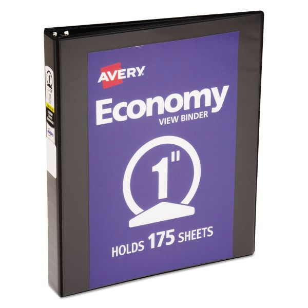"Avery Economy 1"" 3-Ring View Binder"