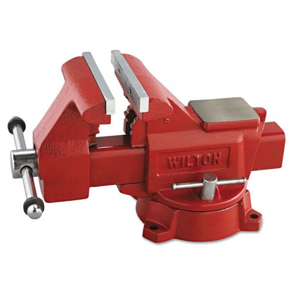 "Wilton Vise, Cast Iron, Utility, 5 1/2"" Jaw Opening, 6 1/2"" Jaw Width, 41.85lbs"