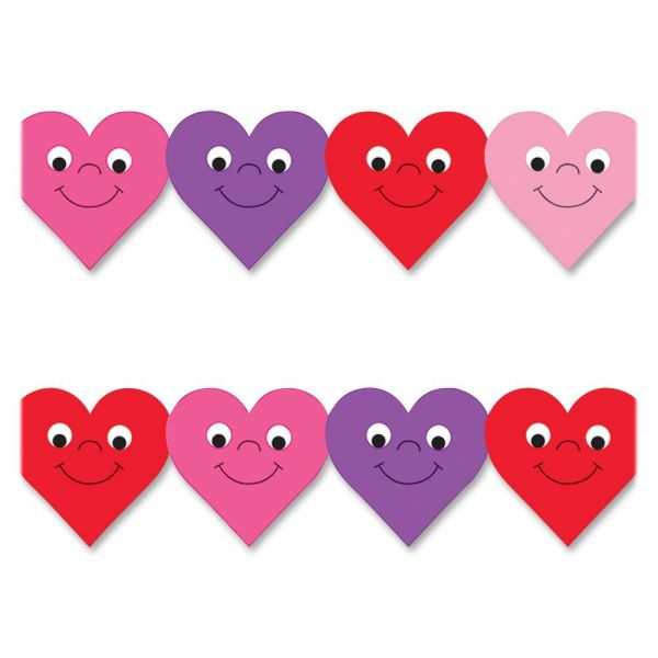 Hygloss Happy Hearts Border