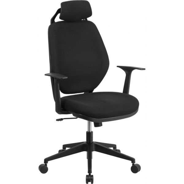 Flash Furniture High Back Executive Swivel Office Chair [CS-75-GG]