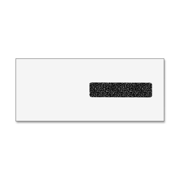 TOPS CMS 1500 Claim Form Self-Seal Window Envelope, 4 1/8 x 9 1/2, White, 2500/Carton