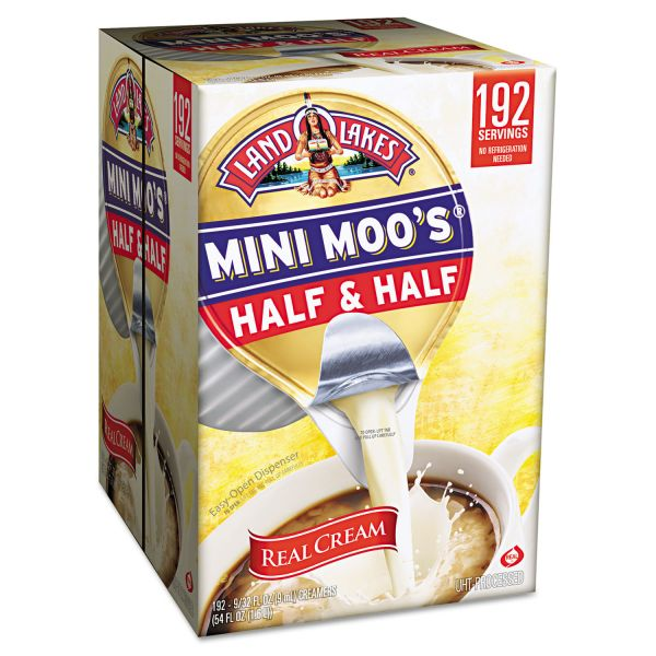 Land O' Lakes Mini-Moo's Half & Half Coffee Creamer Mini Cups