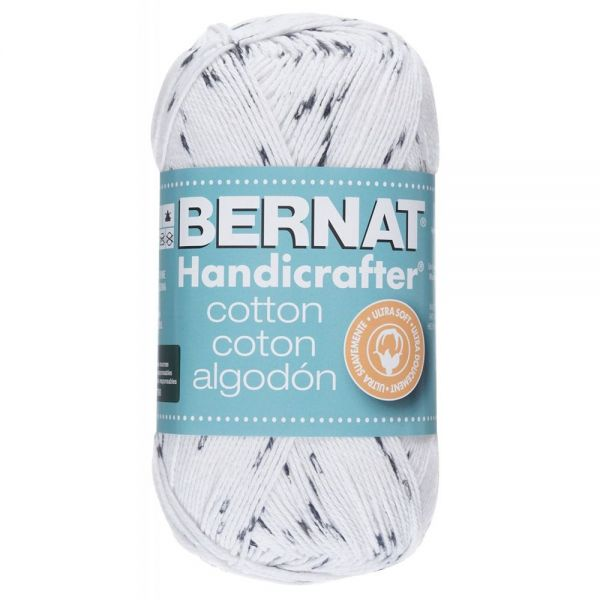 Bernat Handicrafter Cotton Yarn - Salt & Pepper Print