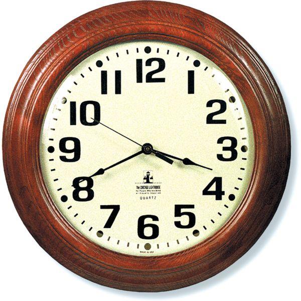 Skilcraft Mahogany Wall Clock