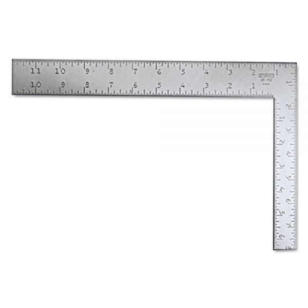 Stanley Tools Carpenter's Square, Steel, 12""