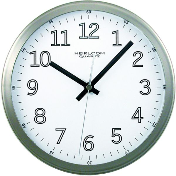"Artistic 9"" Round Wall Clock"