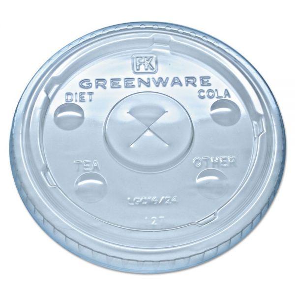 Fabri-Kal Greenware Cold Drink Lids