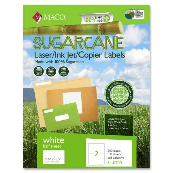 Maco Sugarcane Shipping Labels