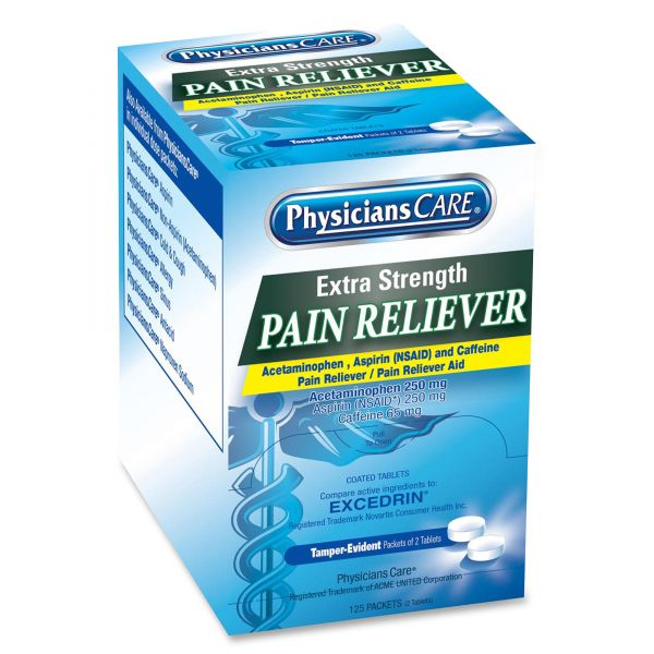 PhysiciansCare Extra-Strength Pain Reliever Tablets