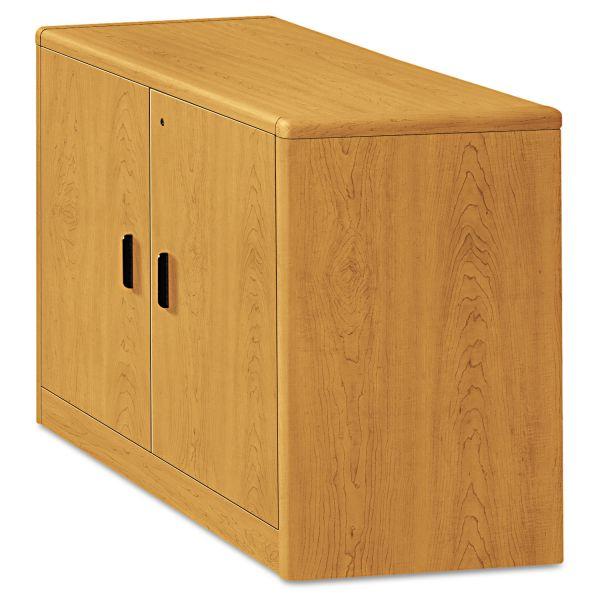 HON 10700 Series Locking Storage Cabinet, 36w x 20d x 29 1/2h, Harvest