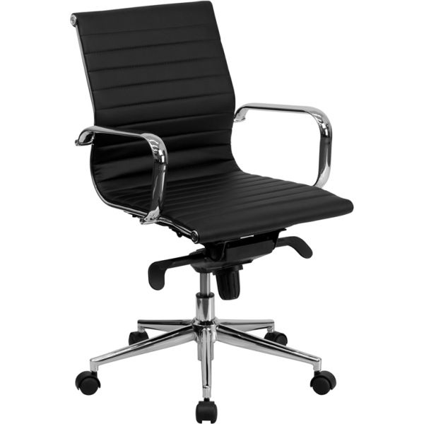 Flash Furniture Mid-Back Swivel Conference Chair