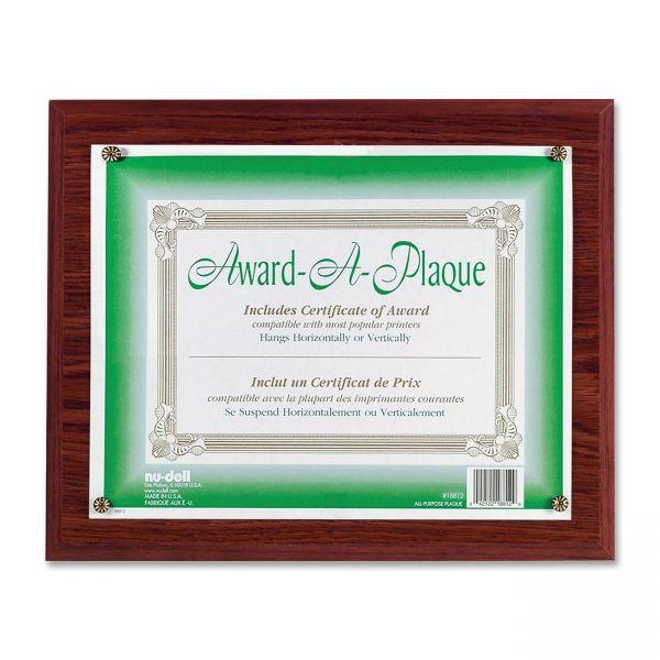 Nu-Dell Award-A-Plaques