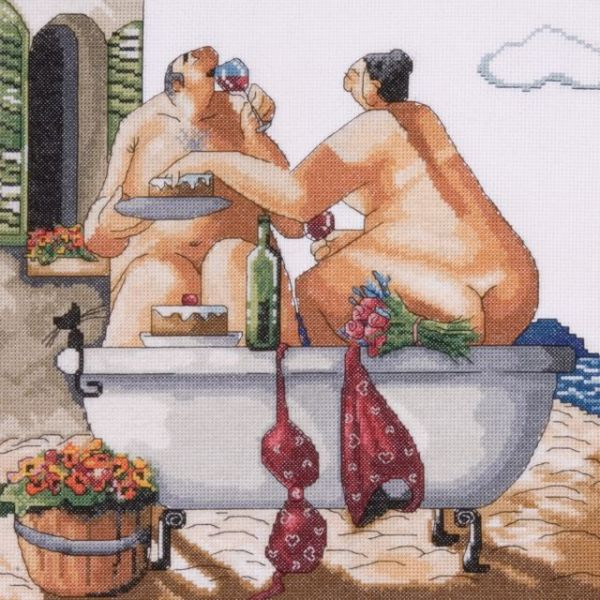 Bathing Beauties Counted Cross Stitch Kit