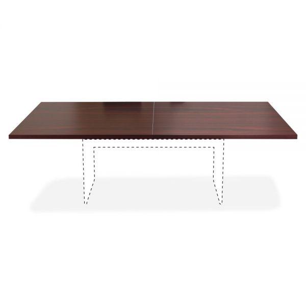 Lorell Chateau Series Mahogany 8' Rectangular Tabletop
