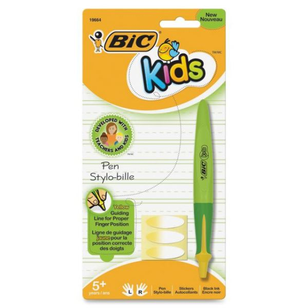 BIC Kids Medium Point Refillable Ballpoint Kids Pen