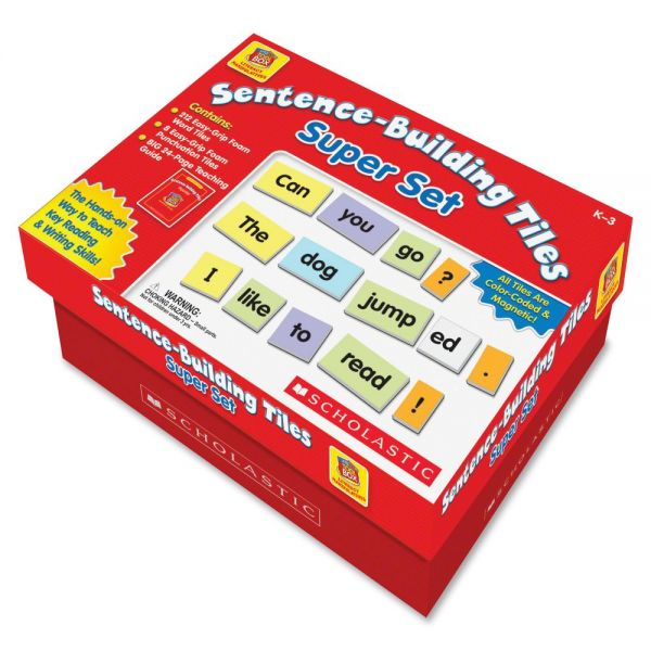 Scholastic Res. Gr K-3 Sentence-Building Super Set