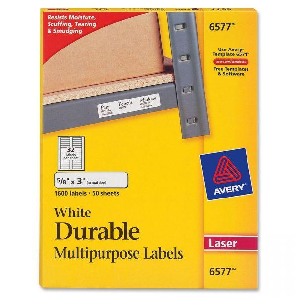 Avery Permanent Durable Multipurpose Labels