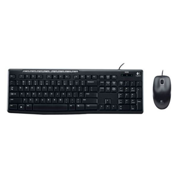 Logitech Media Combo MK200 Keyboard and Mouse