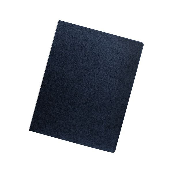 Fellowes Linen Presentation Covers - Oversize Letter Navy 50 Pack