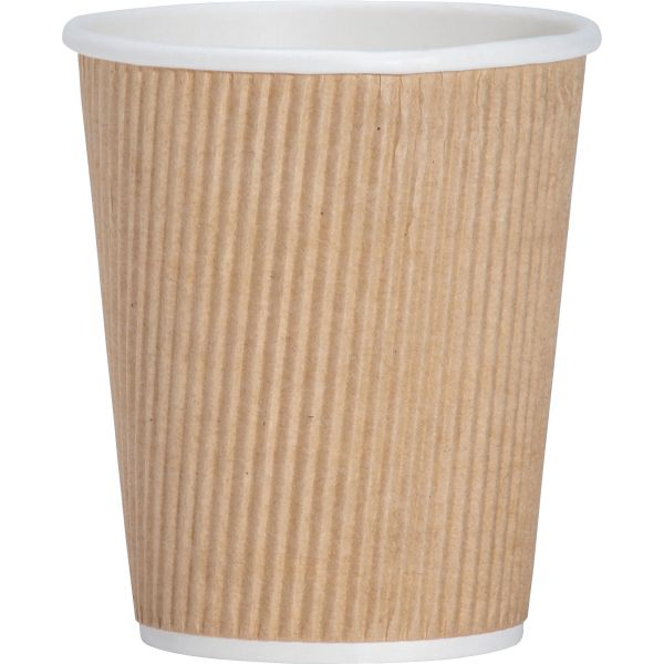 Genuine Joe Ripple 8 oz Coffee Cups